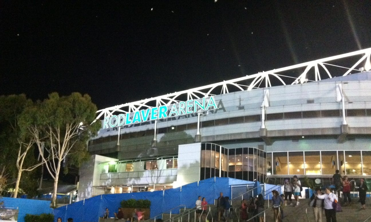 Rod Laver Arena, venue for the Final of the Australian Open