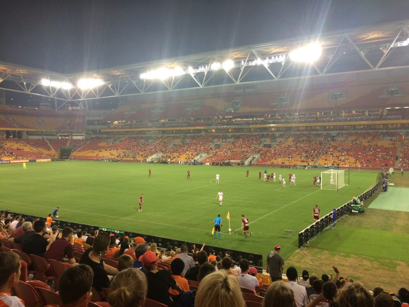 Not much Roar in Brisbane: Guide to the Suncorp Stadium (Brisbane Roar)