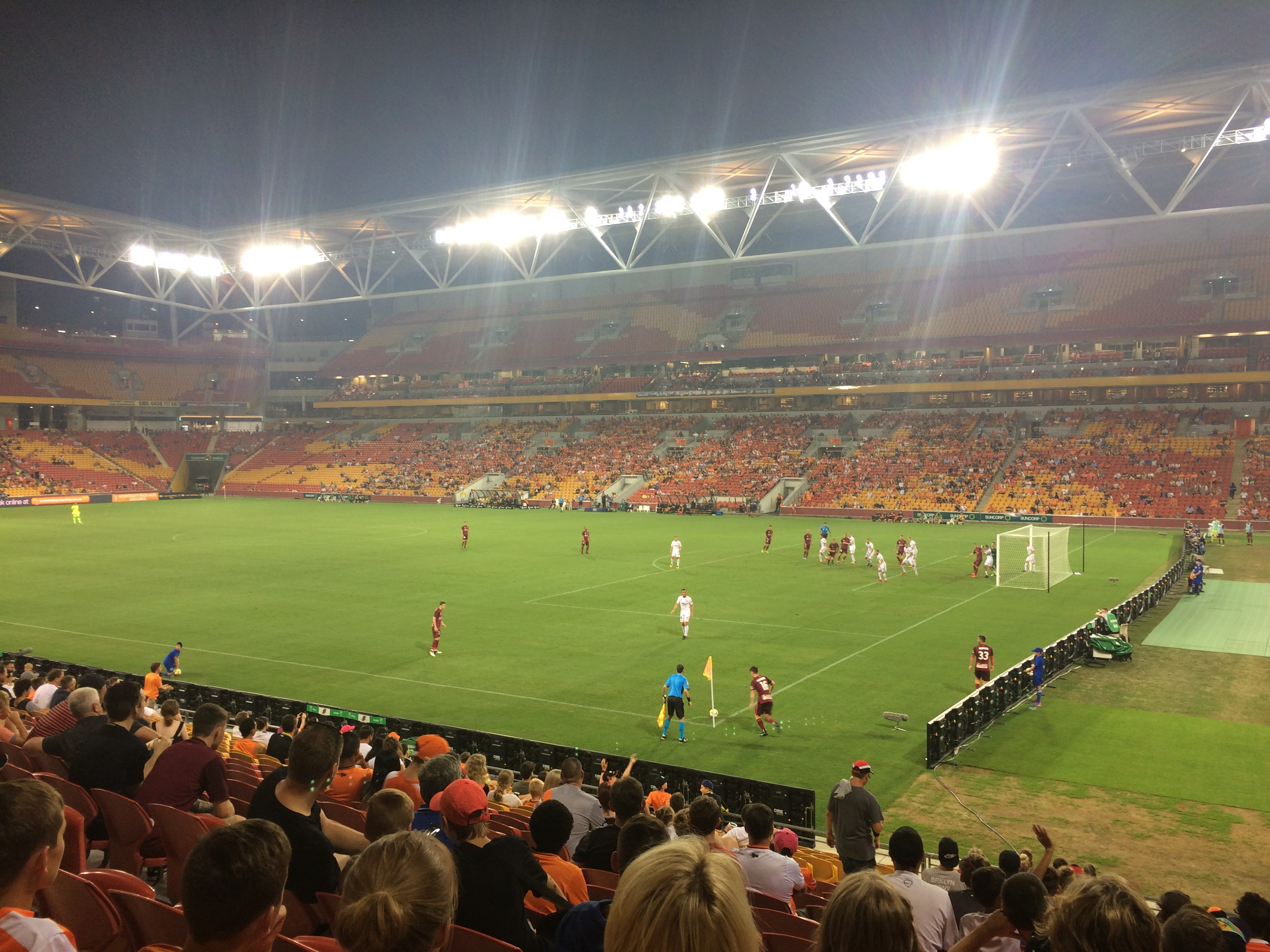 Not Much Roar In Brisbane Guide To The Suncorp Stadium Brisbane Roar Sports Tourist