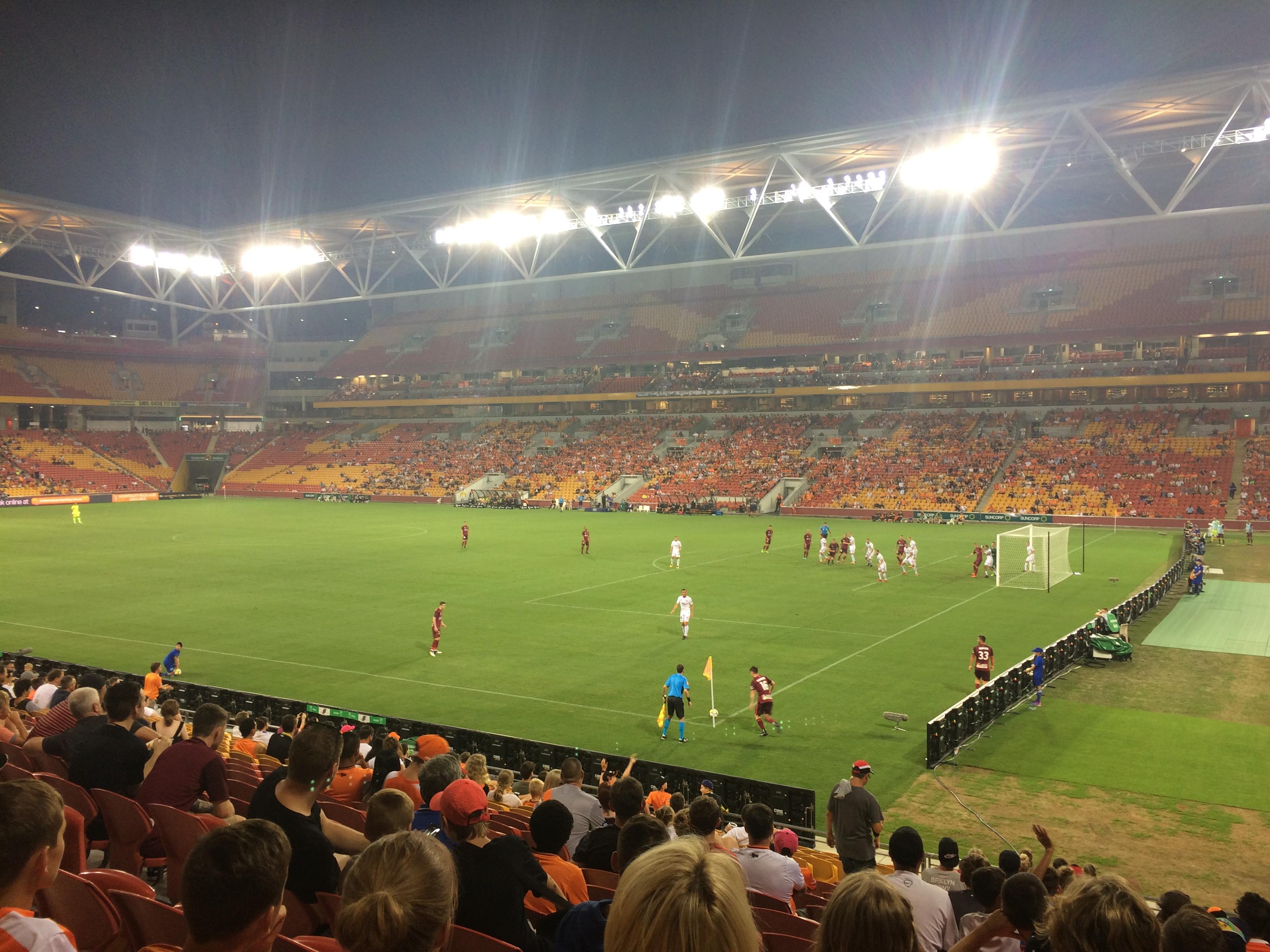 Not Much Roar In Brisbane Guide To The Suncorp Stadium Brisbane Roar Sports Tourist