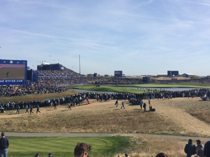 Experiencing the Ryder Cup – Ryder Cup 2018 (Le Golf National, Paris)