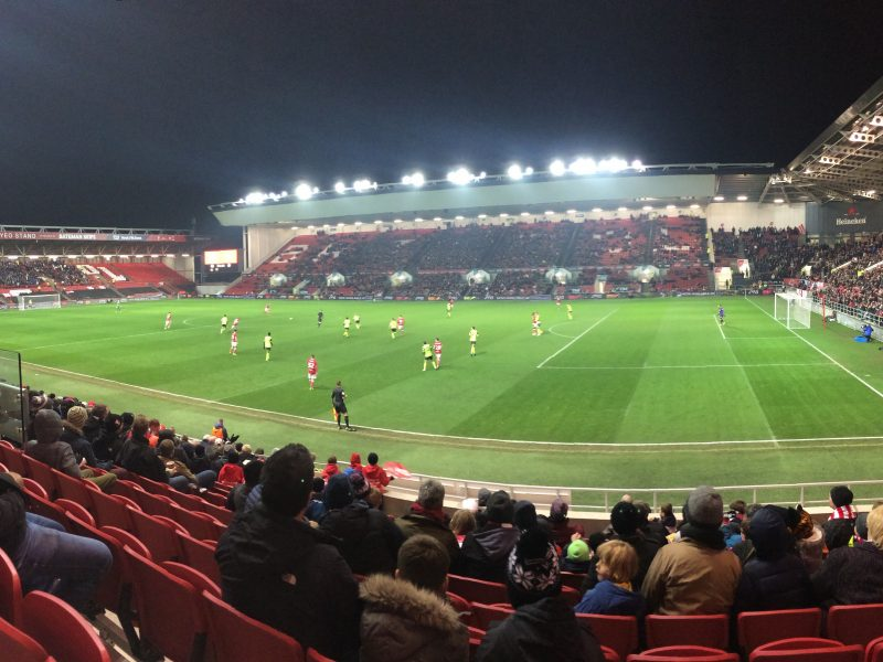 A couple of surprises in Bristol: Ashton Gate (Bristol City)