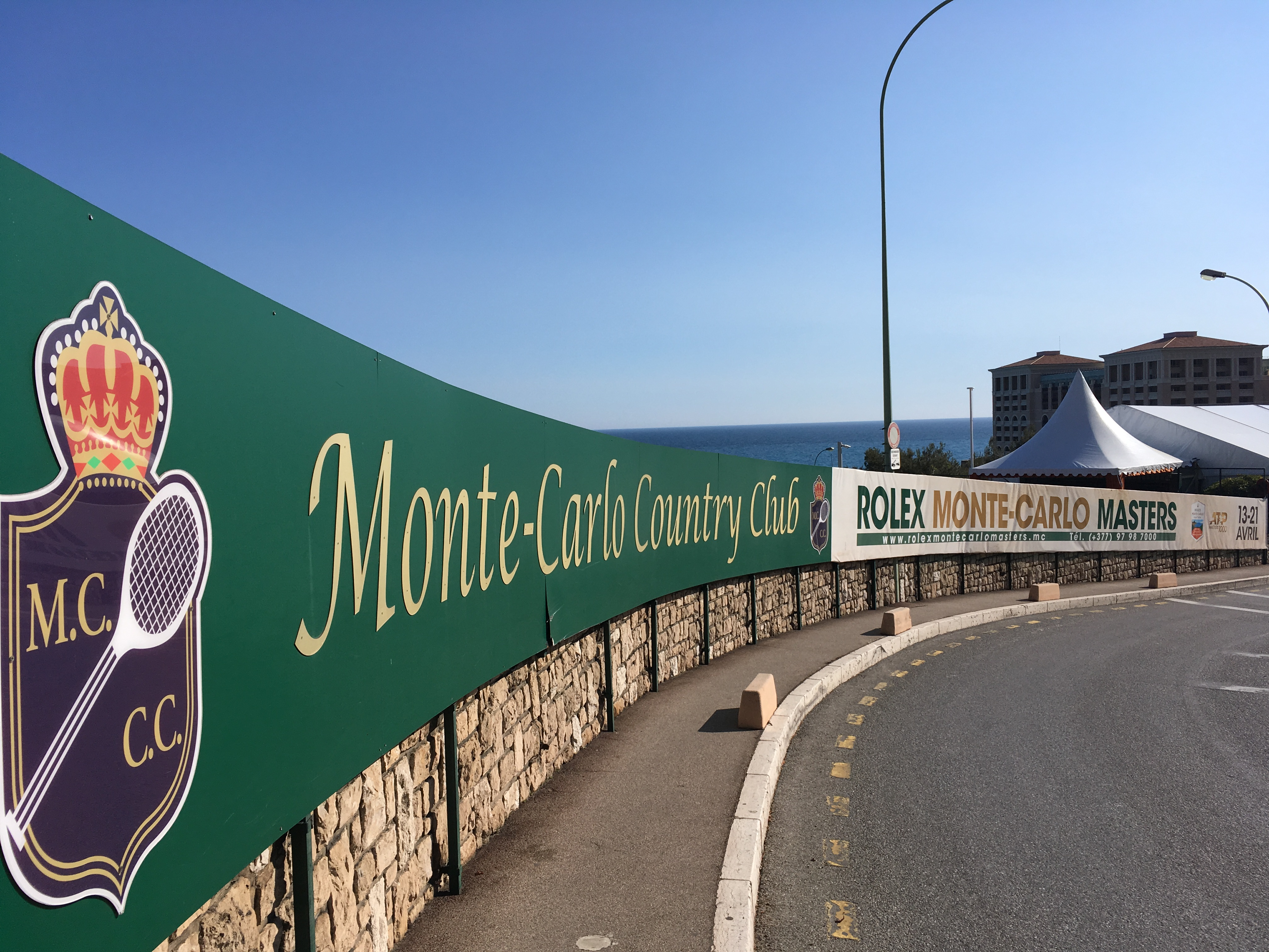 Monte Carlo Country Club, host of the Monte-Carlo Masters