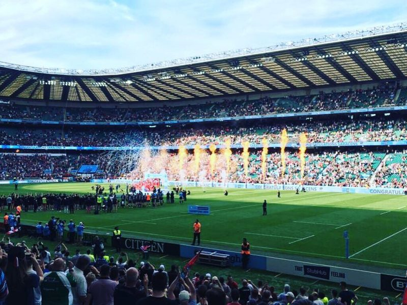 A thrilling finale at Twickenham: 2019 Premiership Rugby Final