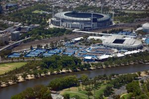 Melbourne Park, home of the Australian Open