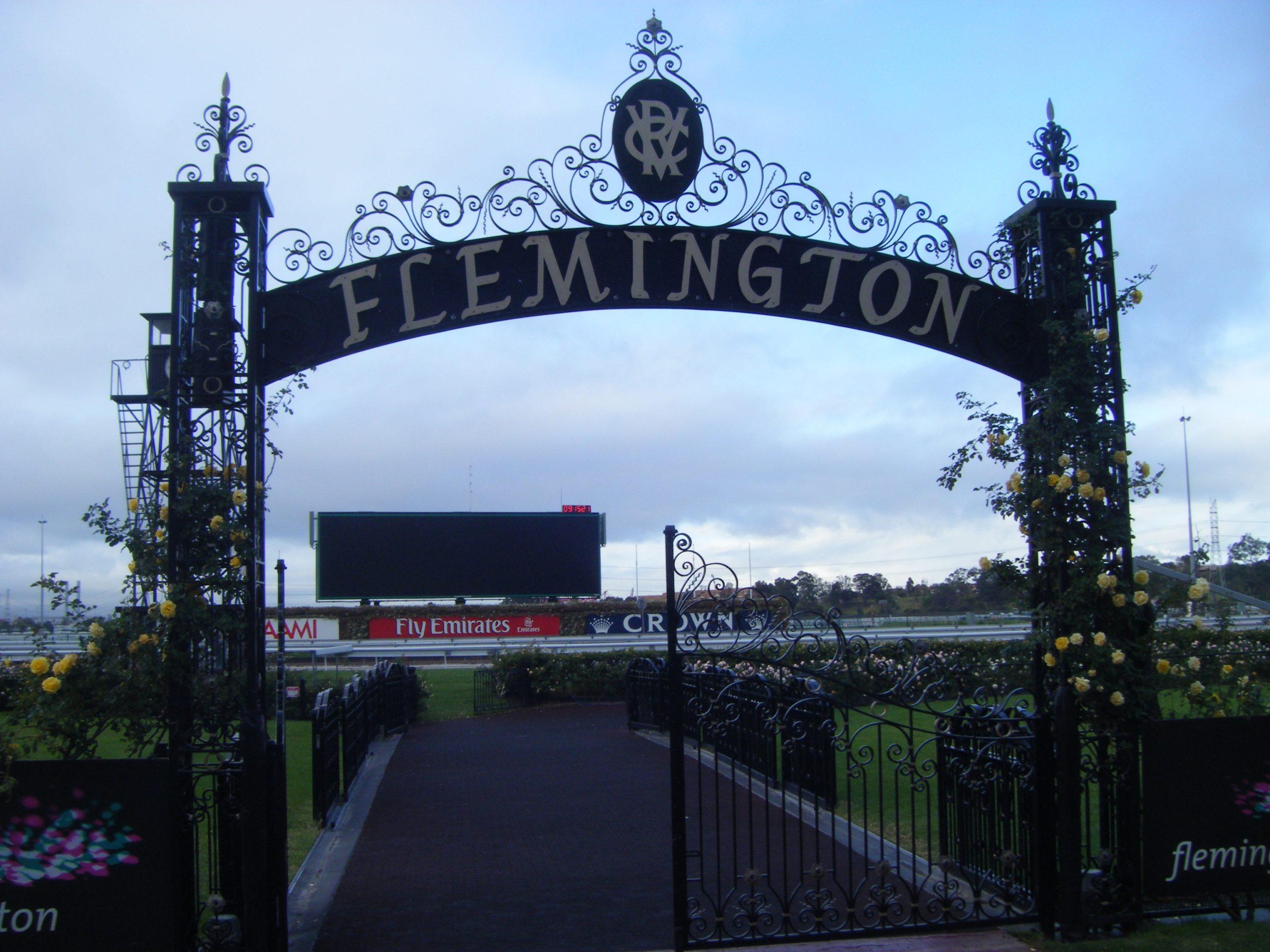 Flemington Racecourse, venue for the world famous Melbourne Cup