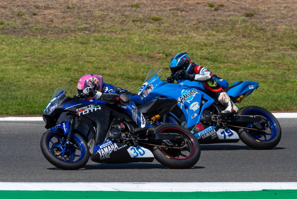 The World Superbikes Championship at Autódromo Internacional do Algarve