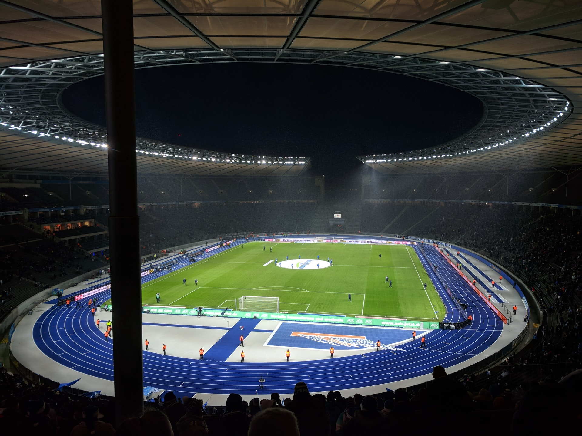 The Olympiastadion in Berlin, Germany