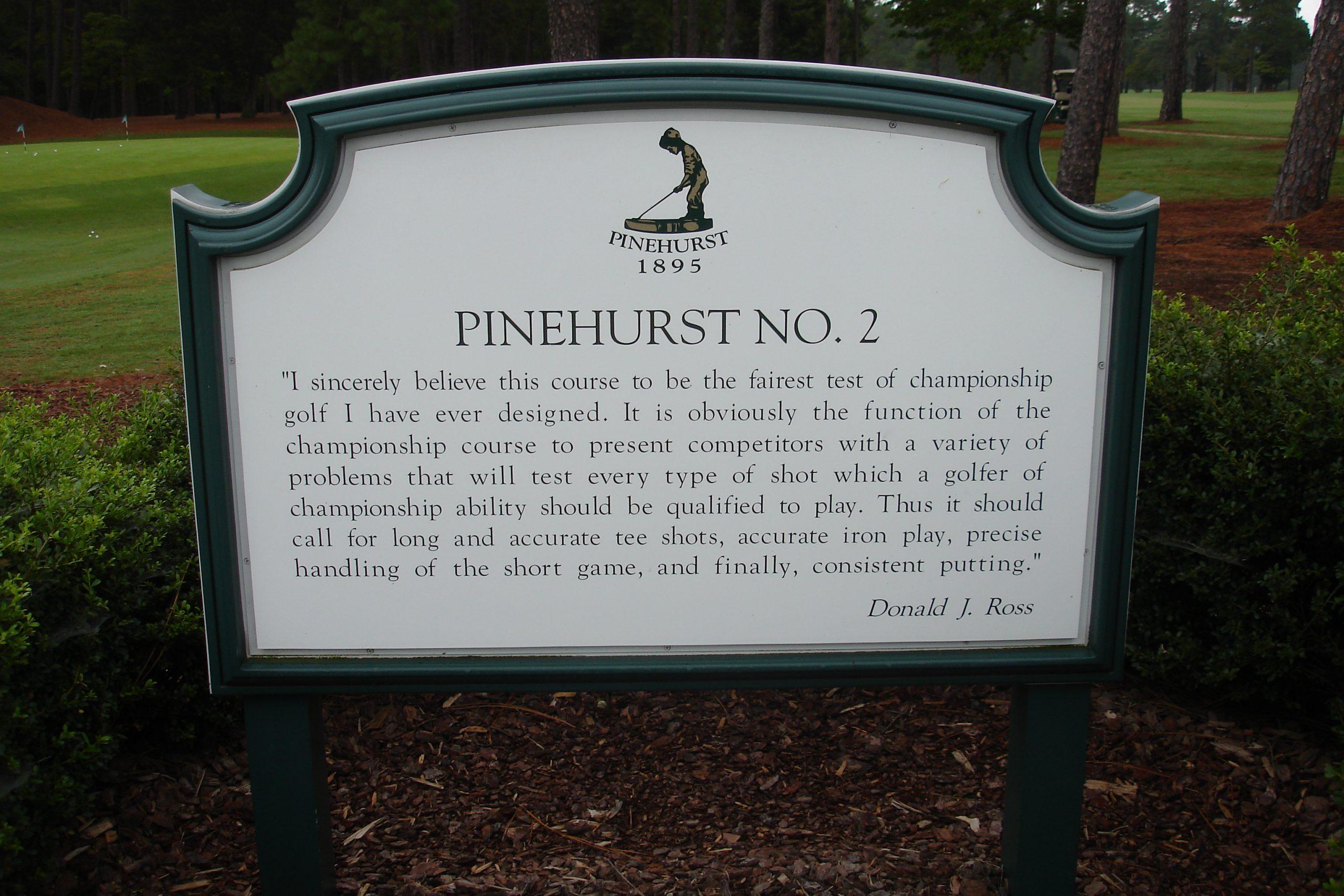 Pinehurst Resort in Pinehurst, North Carolina