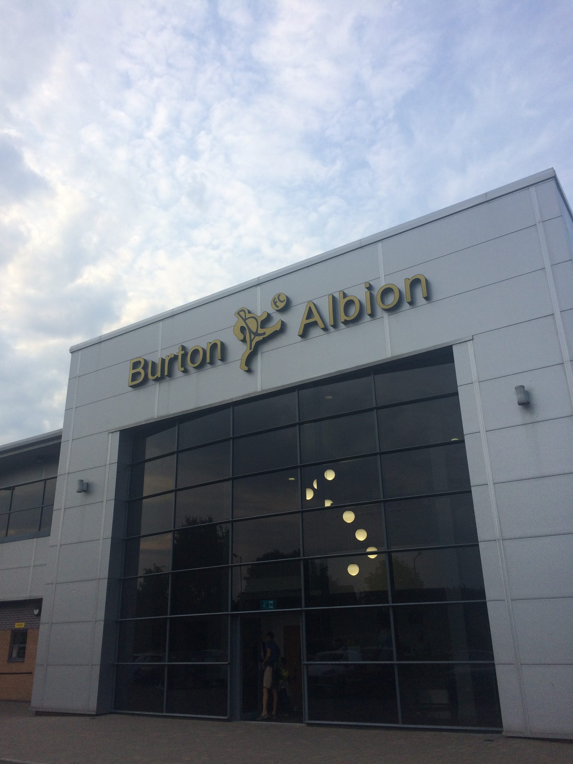 The Pirelli Stadium, home of Burton Albion